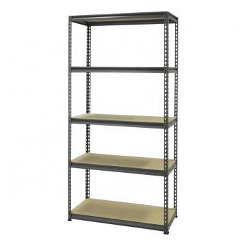 5 shelf mobile wire sheving unit