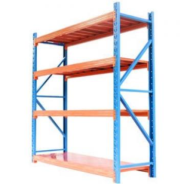 metal gold stainless steel glass garage warehouse display heavy duty shelving storage shelving rack