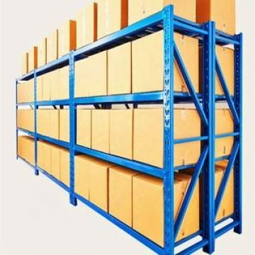 Industrial storage shelving combination / push back pallet racking