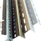 3m Low Price Punched Perforated Painted Galvanized Angle Iron stainless steel Galvanised slotted angle With holes